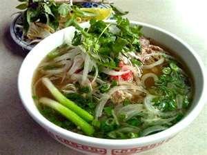 Vietnamese Chicken Pho Soup....