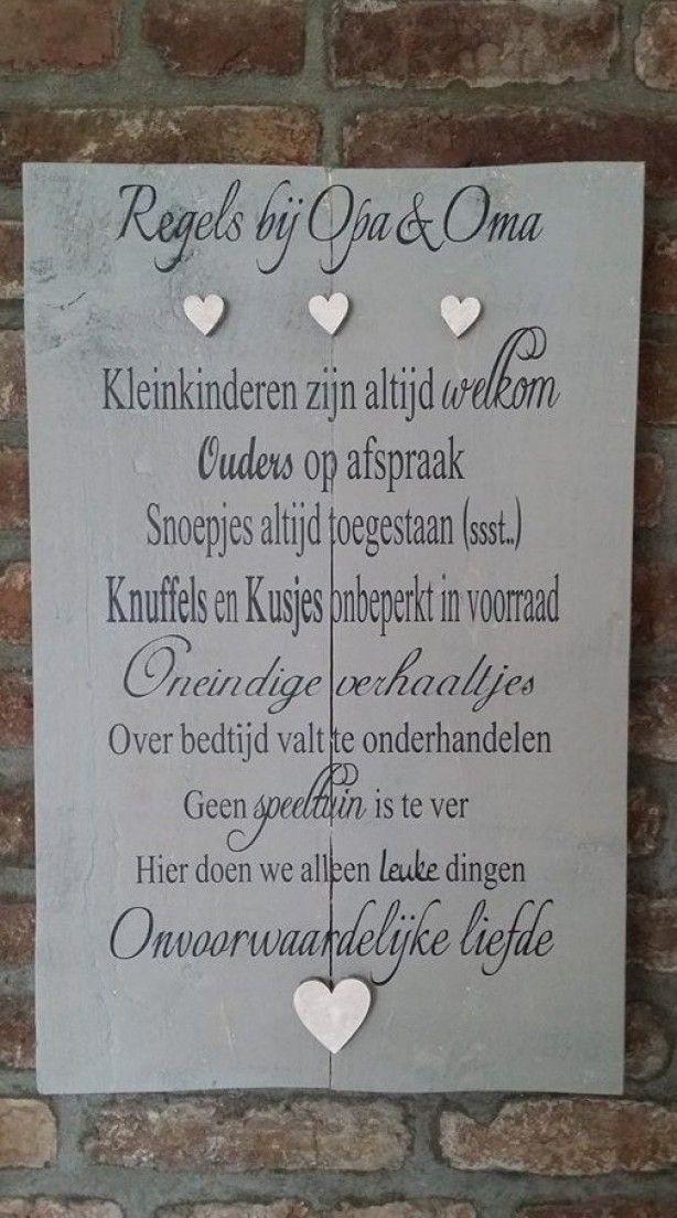 Citaten Voor Huwelijk : Tekstboord bij opa en oma knutsels pinterest