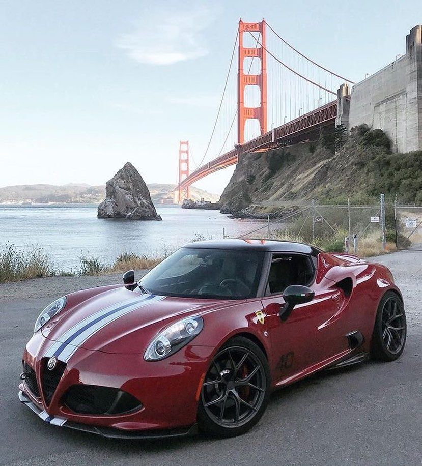 Alfa Romeo 4C // Engine: 1.8 L / V4 / Turbo Power: 240 Hp