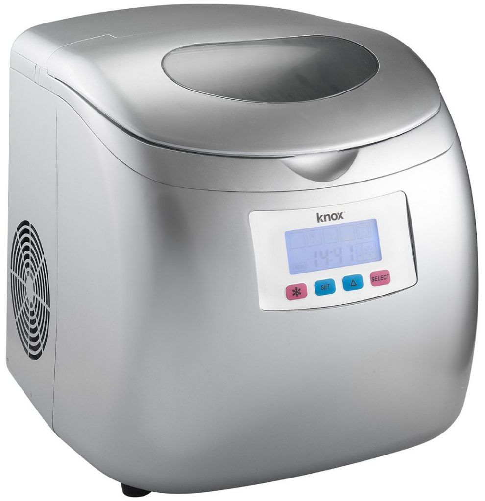 Knox Portable Compact Ice Maker with LCD Display