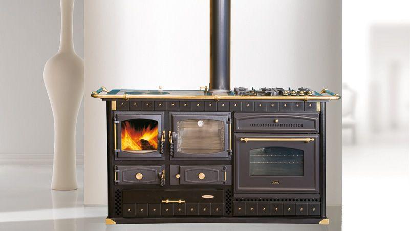 Cuisinière mixte bois / cuisson | Kitchen appliances, Home