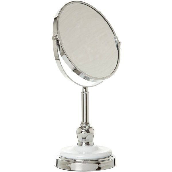 Linea Mirror with white base (£19) ❤ liked on Polyvore featuring fillers and home & furniture