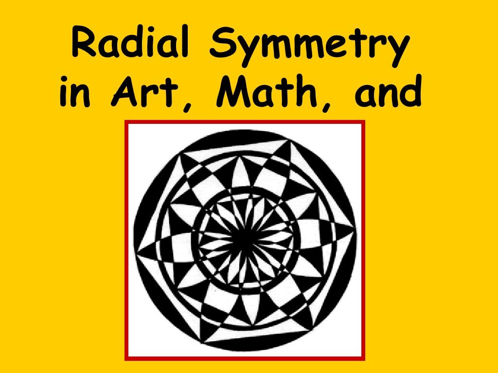 Radial Symmetry By Nancy Walkup Via Slideshare In
