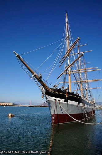 """Balclutha"",1886, full-rigged ship, San Francisco"