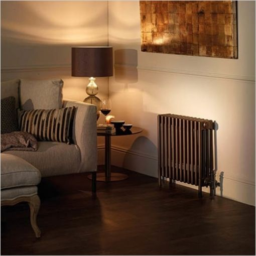 RSF Bathrooms - Appliance Store - Bisque - Electric Classic Radiator 4  Column With Feet 475