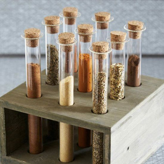 Modcloth Home Decor: Space Saving And Creative Spice Storage Ideas (Image By