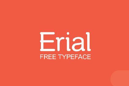 Erial - Free Typeface