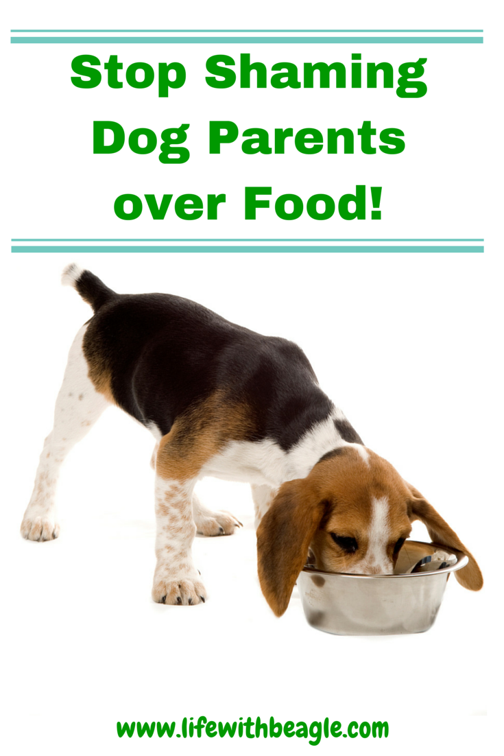 Life With Beagle Dog food is a touchy, personal subject