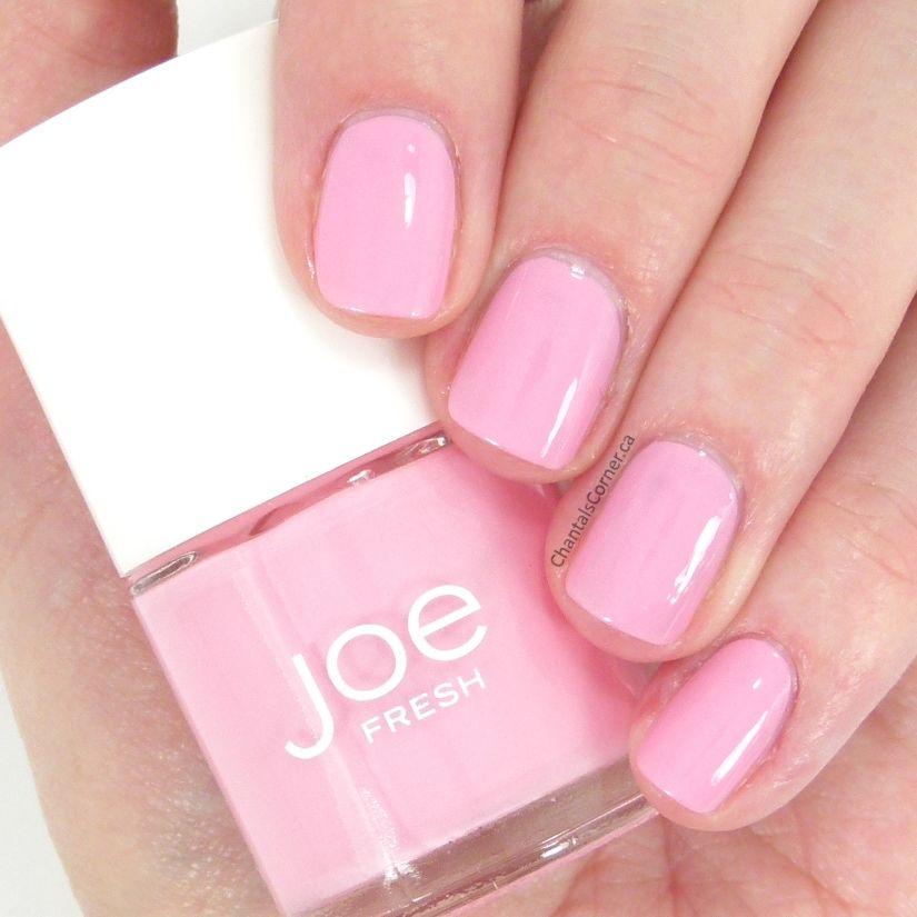 Joe Fresh \'\'Pink\'\' Nail Polish Swatches and Review | Pink nails and ...