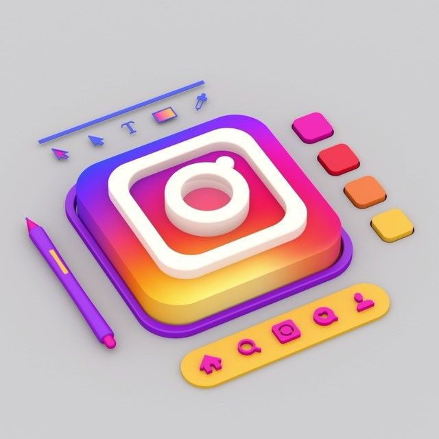 The Instagram Logo Swich 3d Motiondesign Motion Instagram