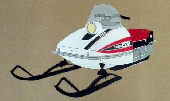 Yamaha GP 433 | Vintage sled, Yamaha, Snow machine