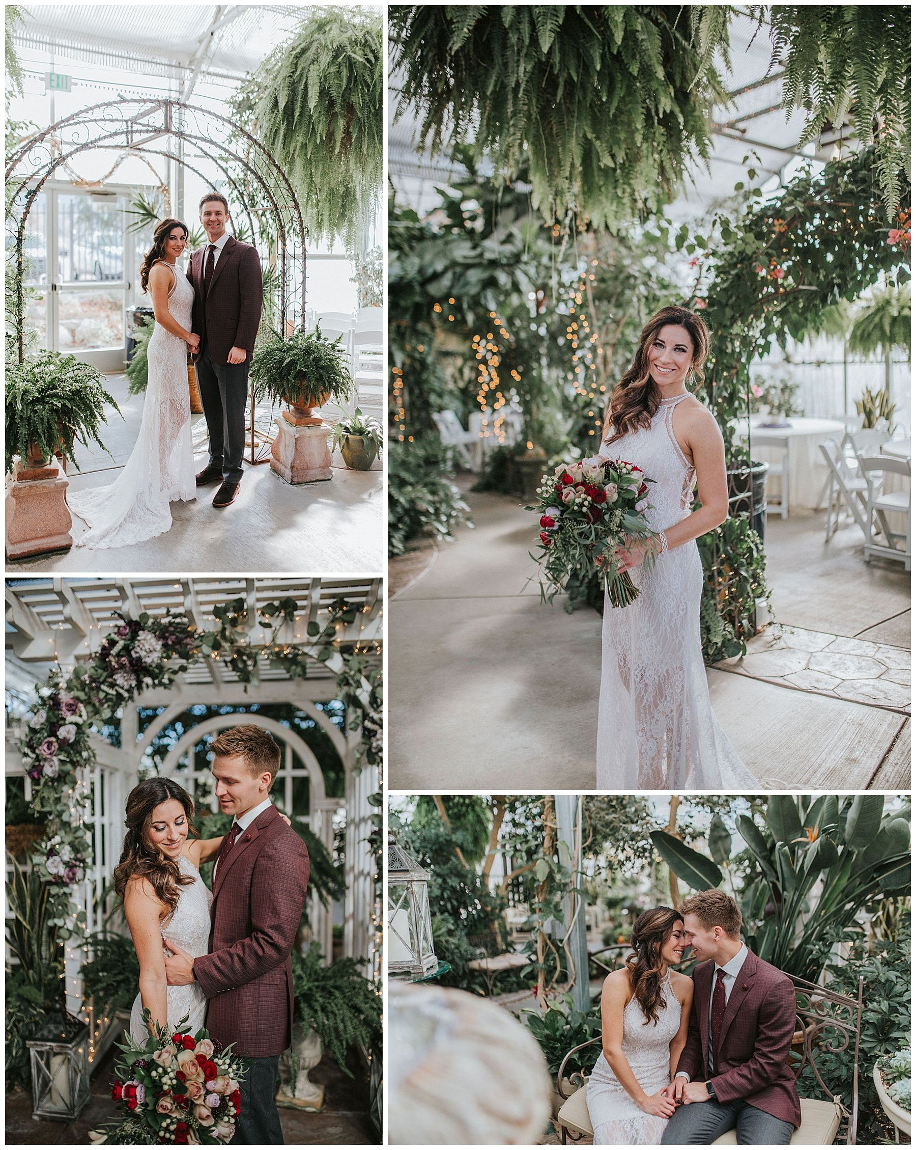 Floral and Greenhouse Dream Wedding Wedding, Knoxville