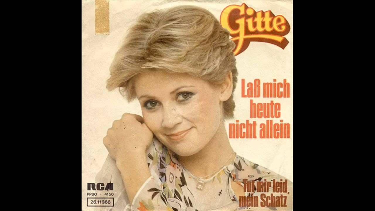 Andrea Berg Diese Nacht Ist Jede Sünde Wert Gitte Haenning Lass Mich Heute Nicht Allein 1976 Youtube Music Artists Music