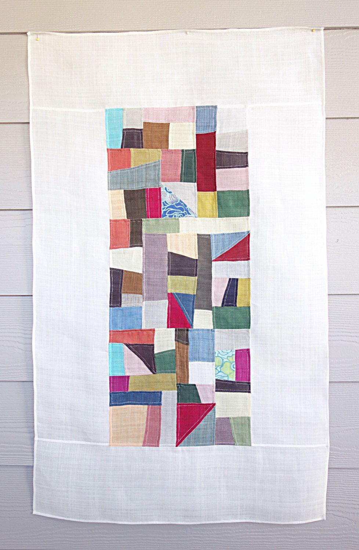 Pojagi, bojagi, jogakbo,korean patchwork, wall hanging, handmade ...