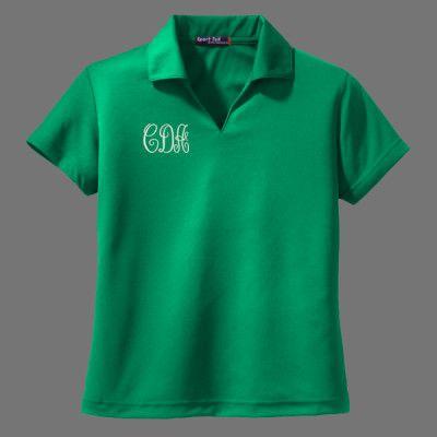 Monogram+Polo+Shirt+