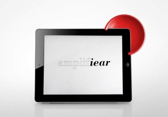 A Low-Tech Amplifier For the iPad.   #products #tech