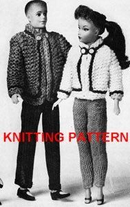 Vintage Knitting Pattern Number 777, Dolls Clothes, Girls & Boys Ski Jackets: Amazon.co.uk: Hilde: Books