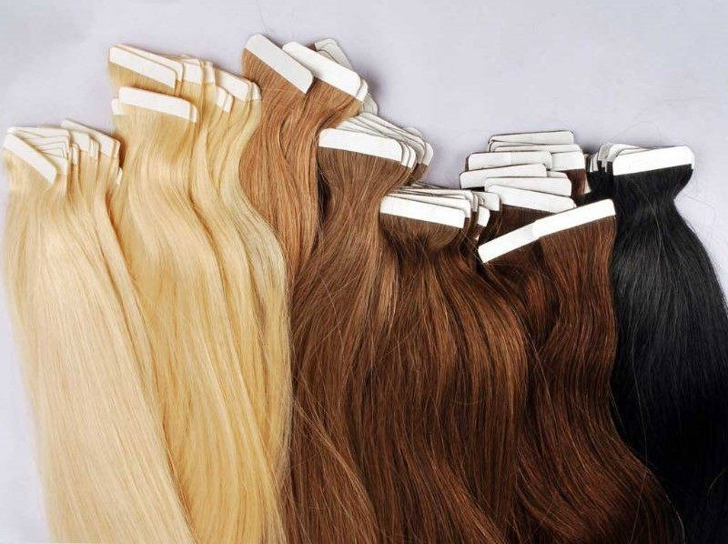 Best 25 tape hair extensions ideas on pinterest tape in 5 star remy human hair seamless tape extensions quickies and pmusecretfo Choice Image
