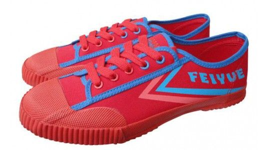 Feiyue Shoes Red Felo Plain Womens/Mens Classic Rubber/Canvas Sneakers - Dereo Shop