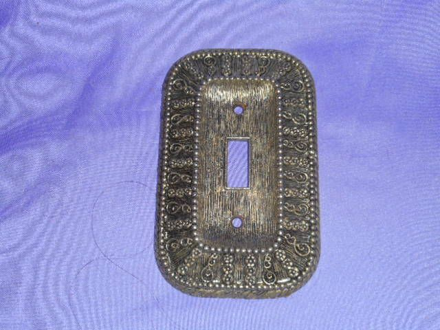Vintage 1968 american tack & hardware co 50t light switch cover ...
