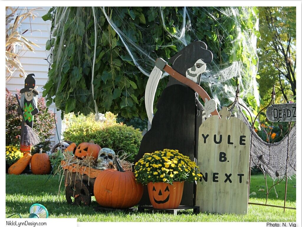 Halloween Outdoor Decor Ideas | Halloween | Pinterest | Halloween stuff