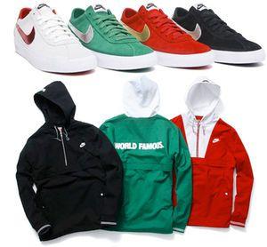 Supreme x Nike SB | Nike Bruin & Twill Pullover Jacket 2009 ...