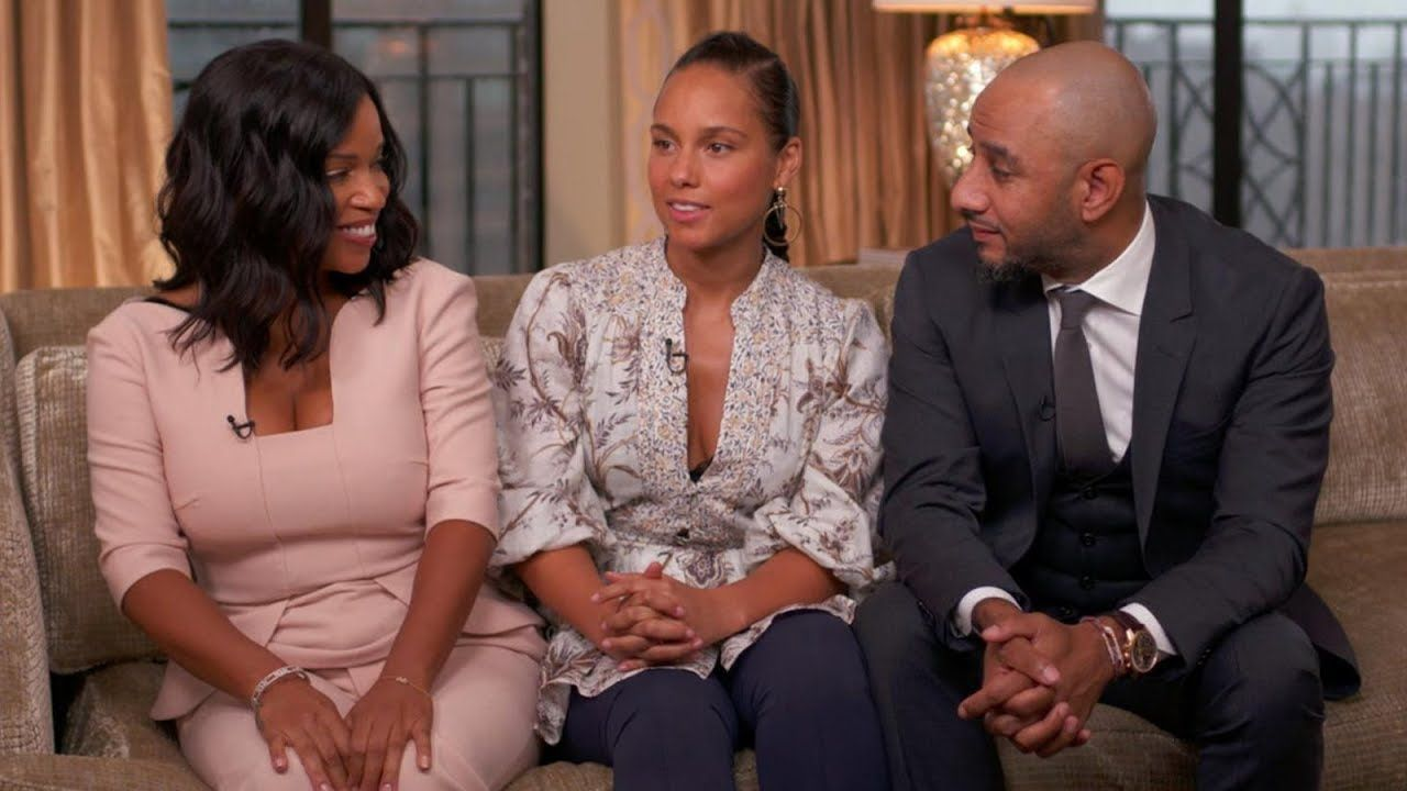 Alicia keys on coparenting with her husband and his ex