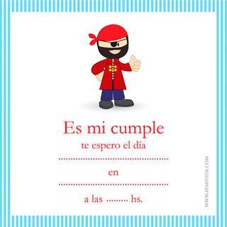 Tarjeta De Cumpleaños 1 Año De Varón Para Imprimir