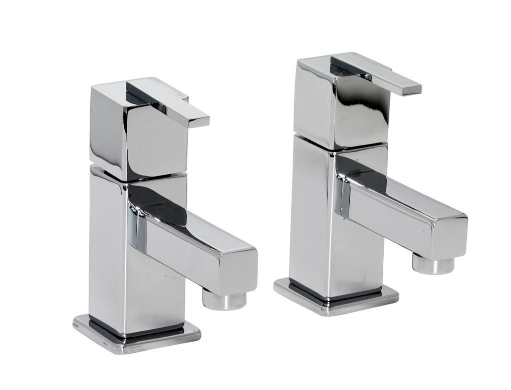 Montreal 1/4 Turn Bath Taps - Solid Chrome | Bathroom Taps ...