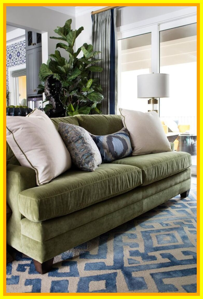 85 reference of couch Living Room green in 2020 | Green ...