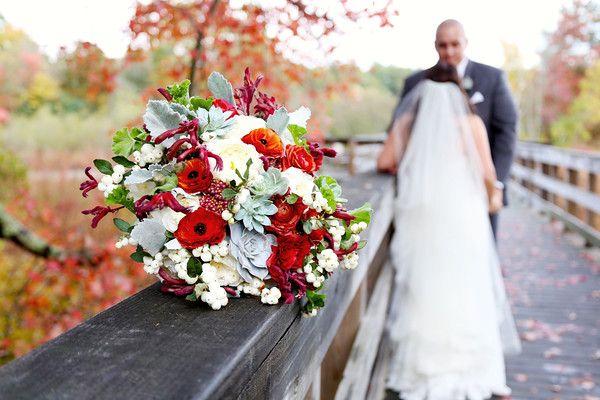Ashley & Tom's Stunning Autumn Wedding   Abigail Kuzia Photography