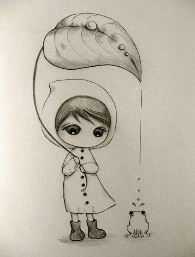 Pin by Anjana Anand on anju\'s 676 | Drawings, Cute drawings, Pencil ...