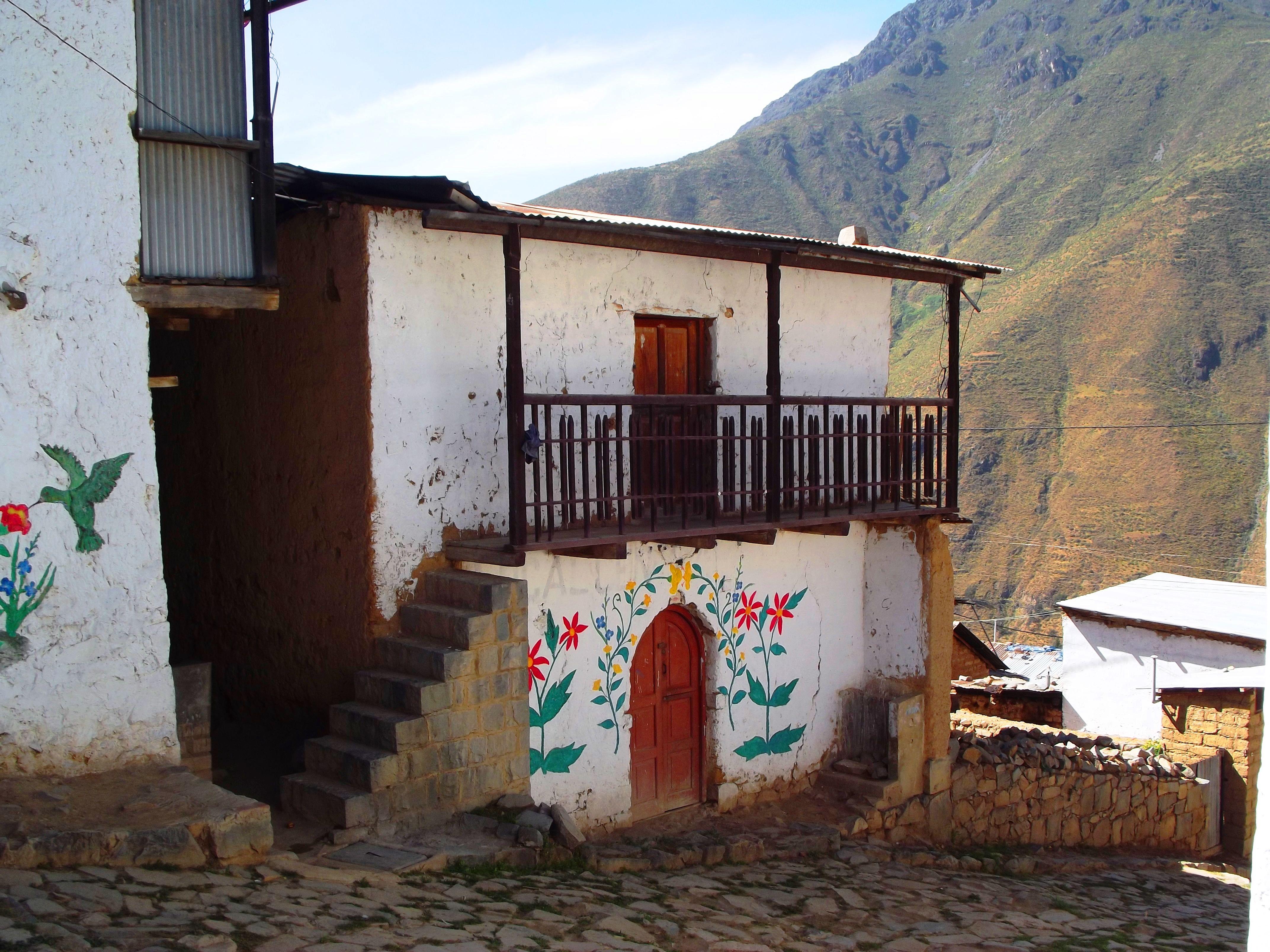 San Pedro de Casta, en Huarochirí, cerca de Marcahuasi.
