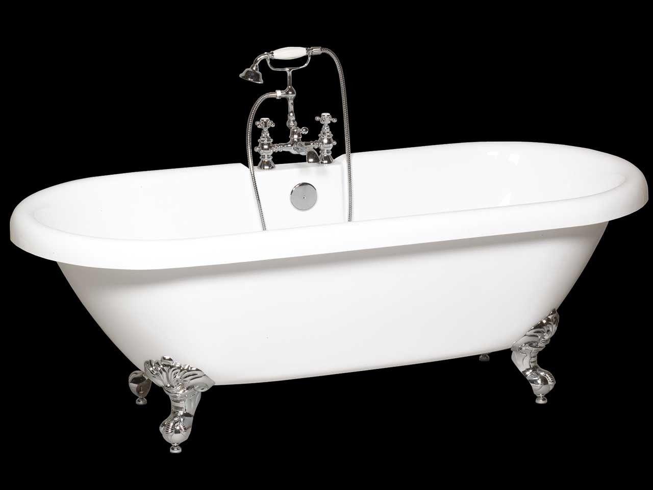 Altezza Vasca Da Terra : Vasca classic one piedi inclusi iperceramica vasche