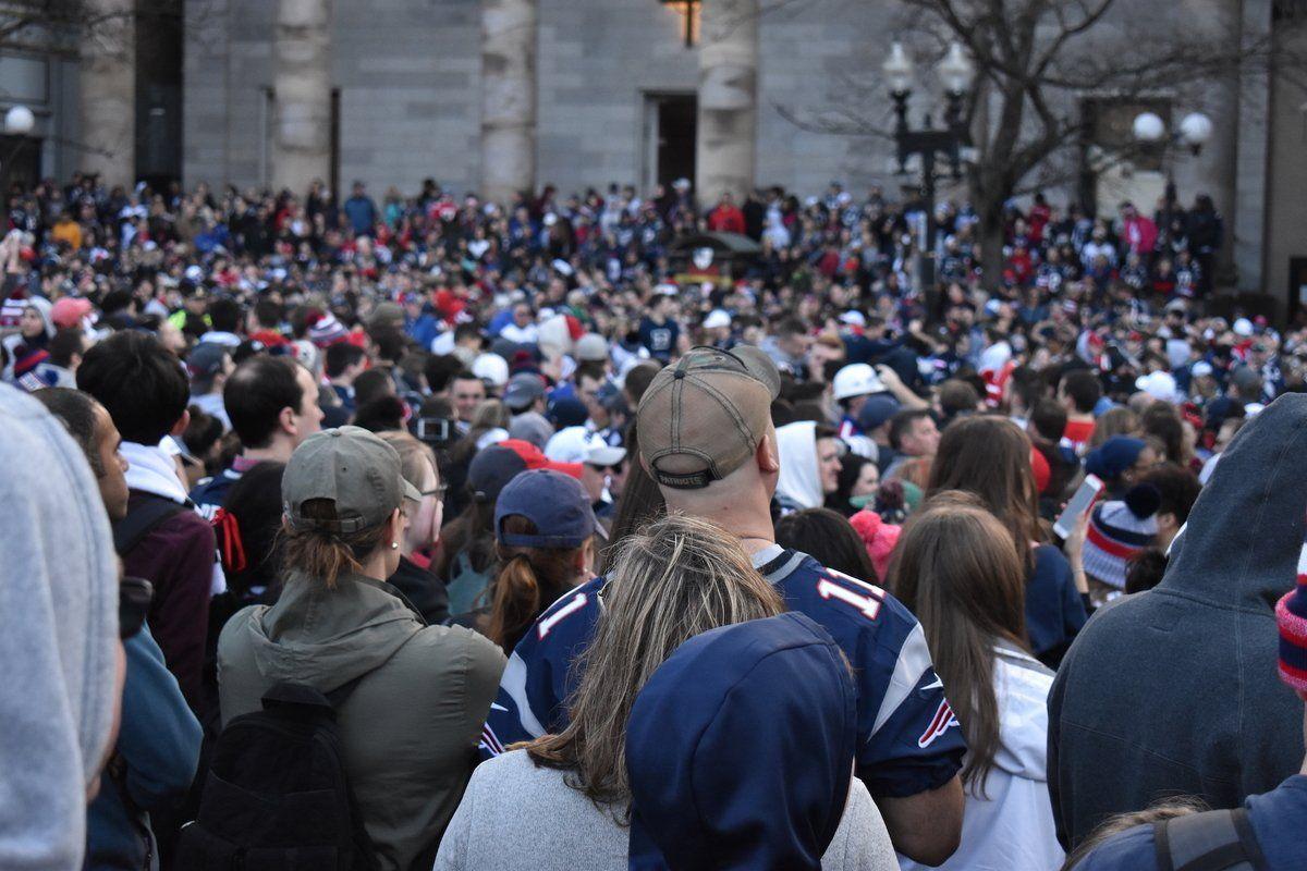 Photos New England Patriots Super Bowl Parade 2019 New England Patriots Patriots New England Patriots Football
