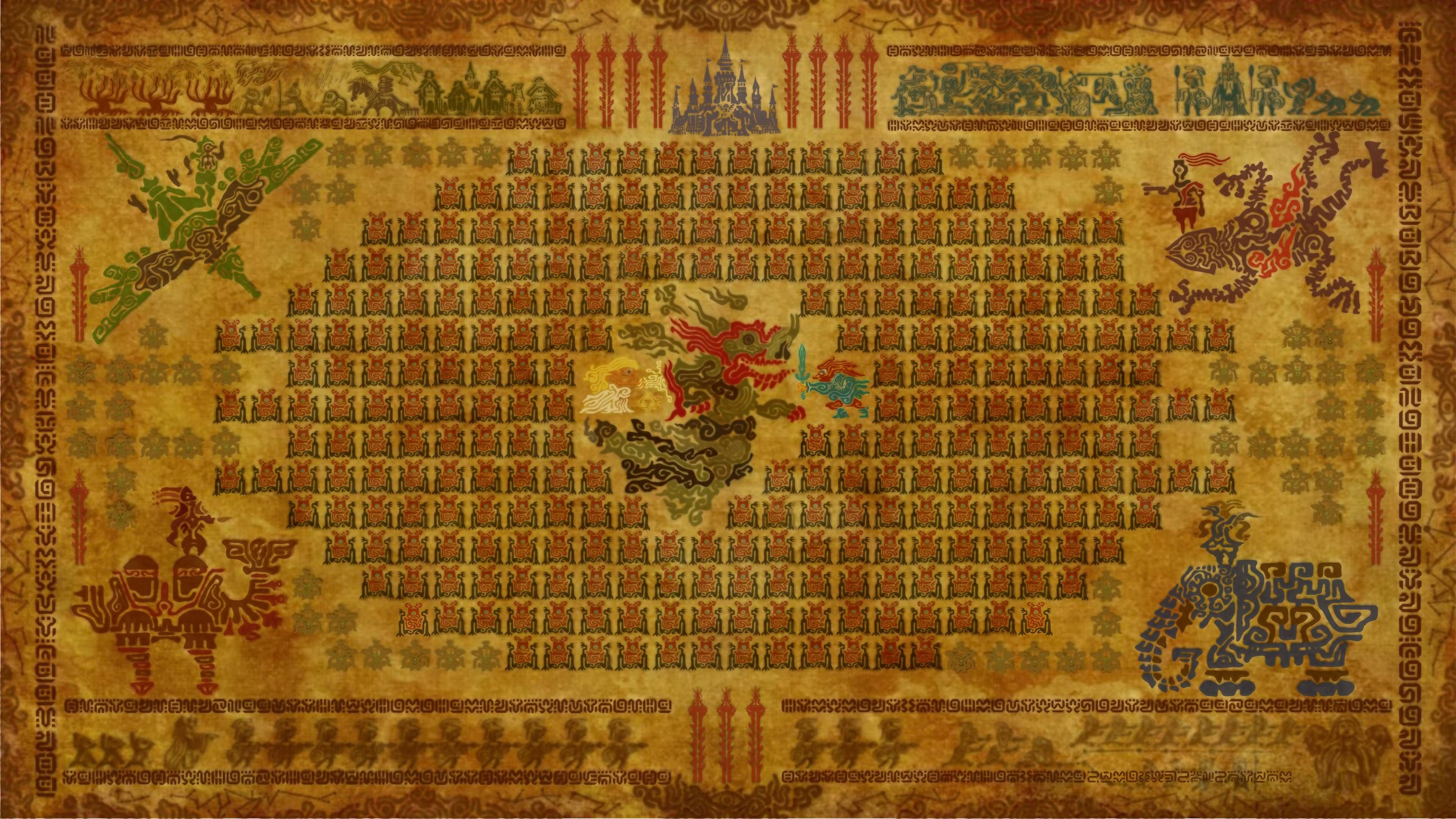 Calamity Ganon Tapestry Zelda Desenhos