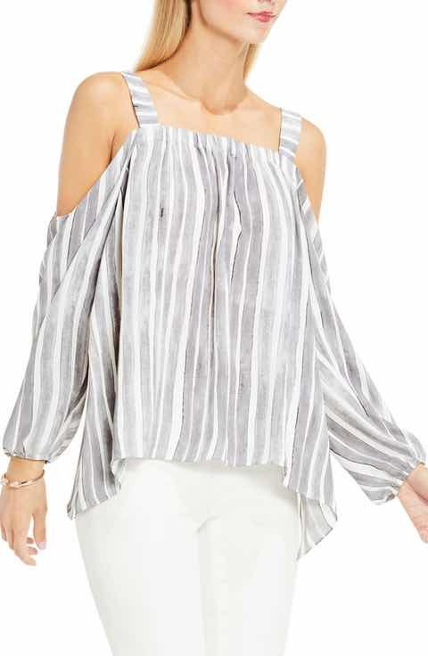 a973dc191161 Vince Camuto Off the Shoulder Top (Regular   Petite)