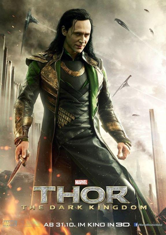 Loki got new poster - Thor 2