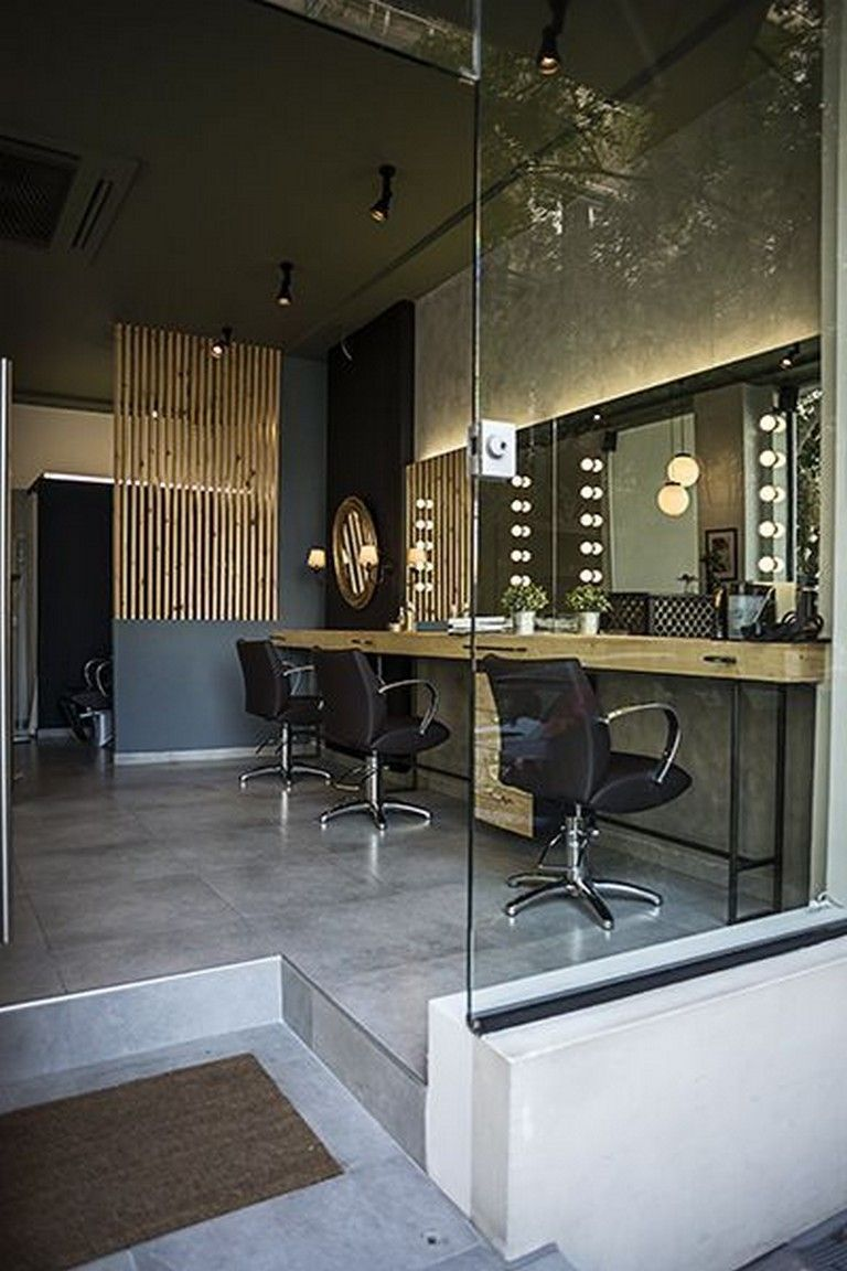 40 Best Salon Decor Hairdressing For Inspiration To Maximize Existing Place Salon Interior Design Salon Decor Salon Interior