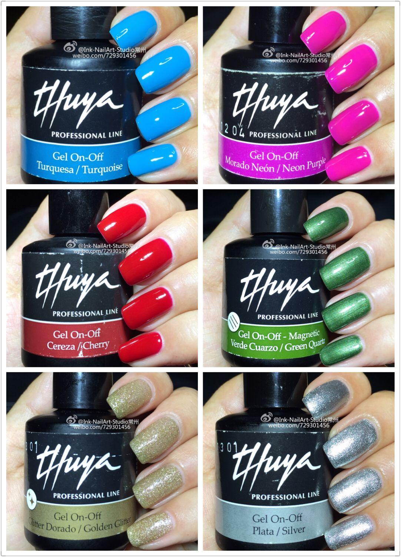 Thuya Nail polish | Thuya | Pinterest | Esmalte, Uñas para fiesta y ...