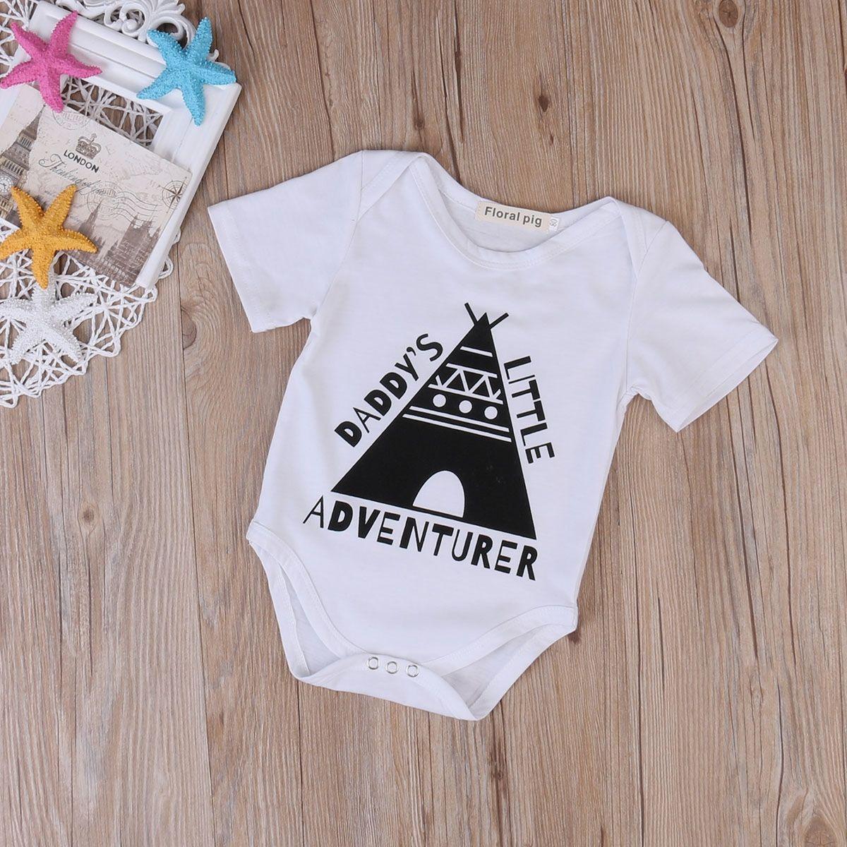 DADDY'S LITTLE ADVENTURER Baby Romper  Do you like it?
