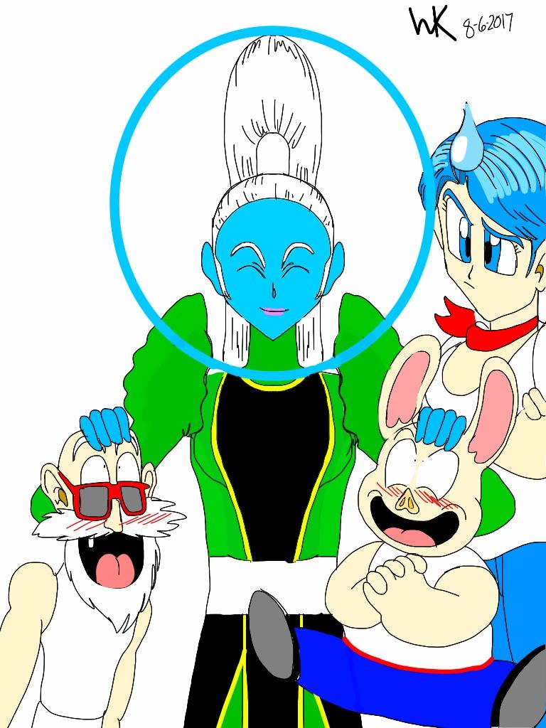 Dragon Ball Supervados Master Roshi Oolong And Bulma My Anime