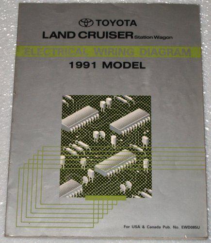 1991 Toyota Land Cruiser Electrical Wiring Diagram  Fj80 Series  Station Wagon  In 2020