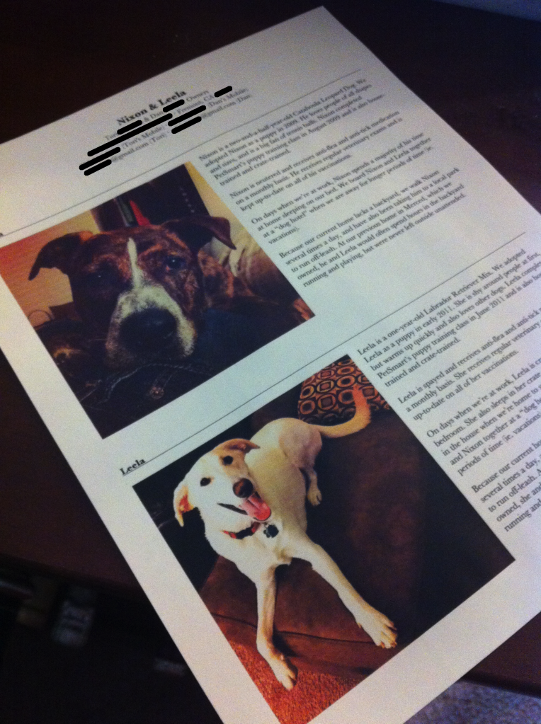 Pet Resume To Help You Land A New Rental House By Making Your Furanimals Seem Like Pets And Not Monsters Rental Decorating Fur Babies Dog Love