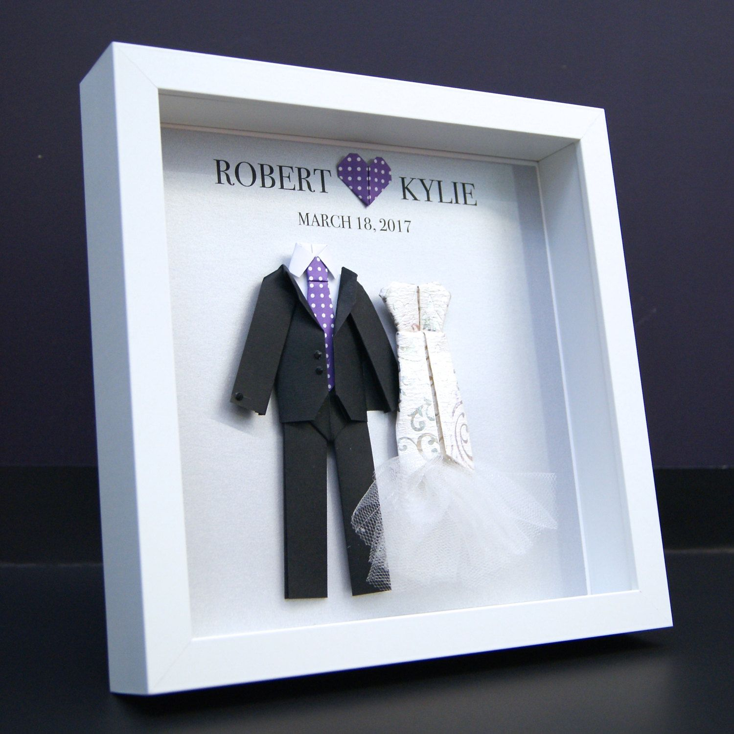 Personalized Wedding Gift, First Anniversary, Paper