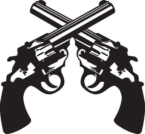 Crossed Guns Guns Guns Drawing Cross Art