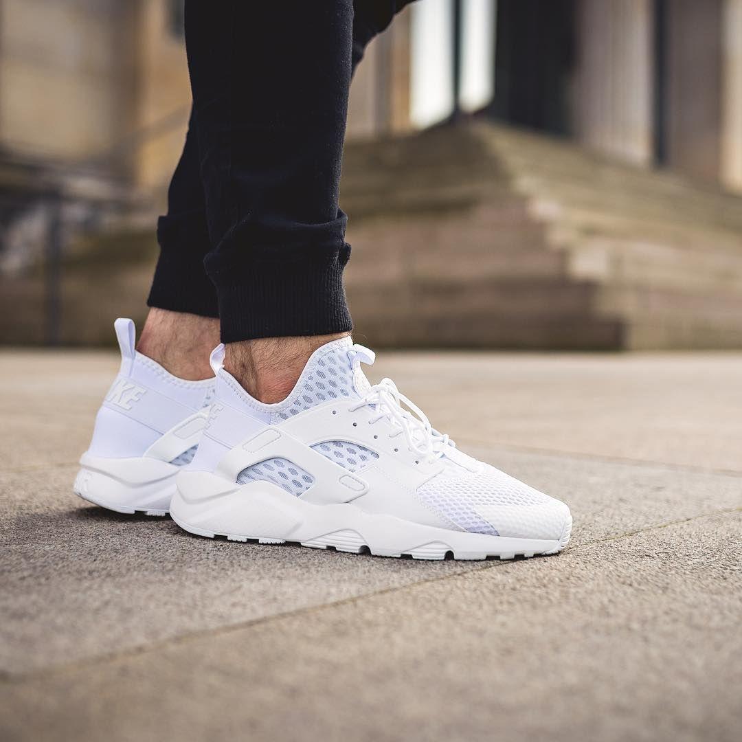 Nike Huarache Triple White goldiloxx Mote og  Fashion and