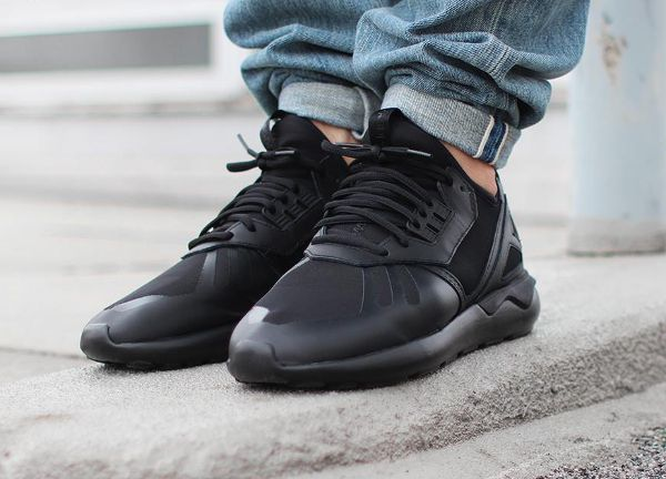 A Look At The adidas Tubular Rise In Core Black sneakerscartel