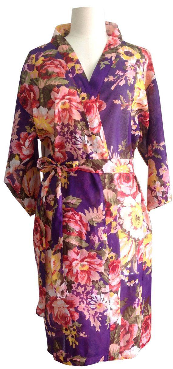 lilac bridesmaid robes - 703×1500