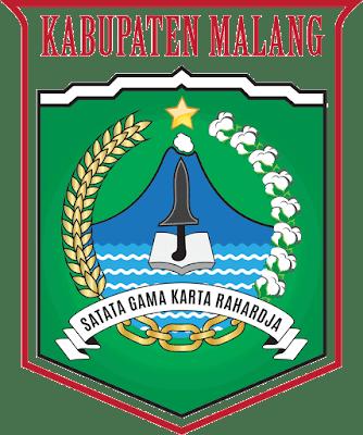 Lambang Kabupaten Malang Propinsi Jawa Timur Malang Segi Lima Gelombang Laut